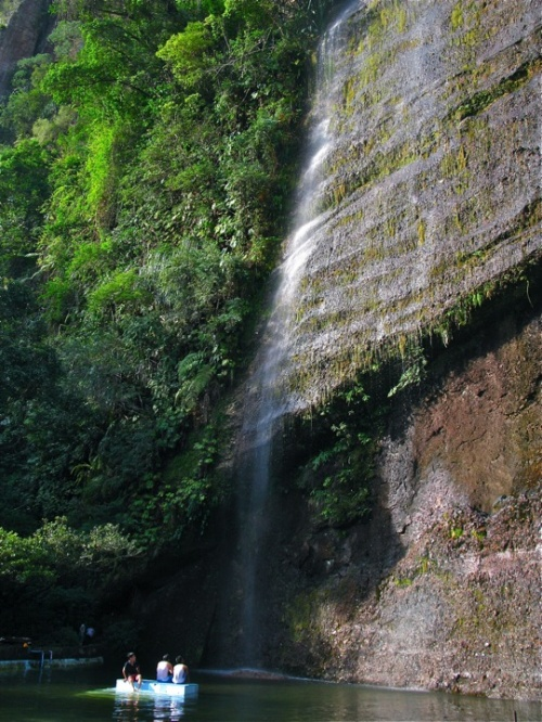 Водопад в Харау