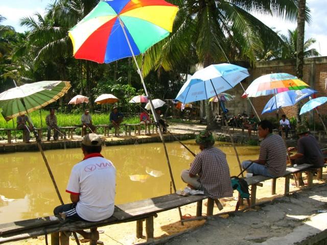 Рыбалка по-индонезийски