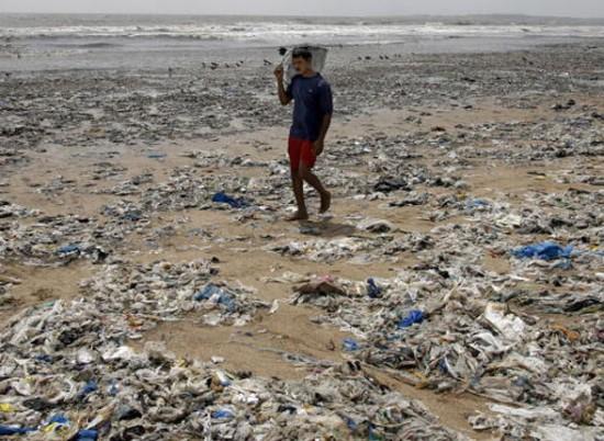 Пляж в Мумбае