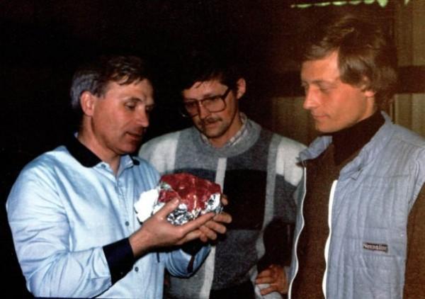 1985 год. Уникальный шпинель 5 кг