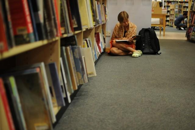 Набираемся духовности в книжном