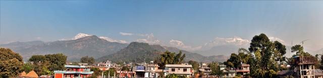 Панорама с крыши отеля