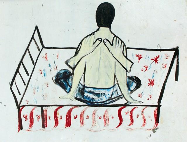 Невидимый покхарский массажист за работой