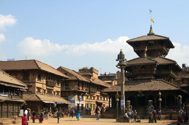 Площадь в Бхактапуре