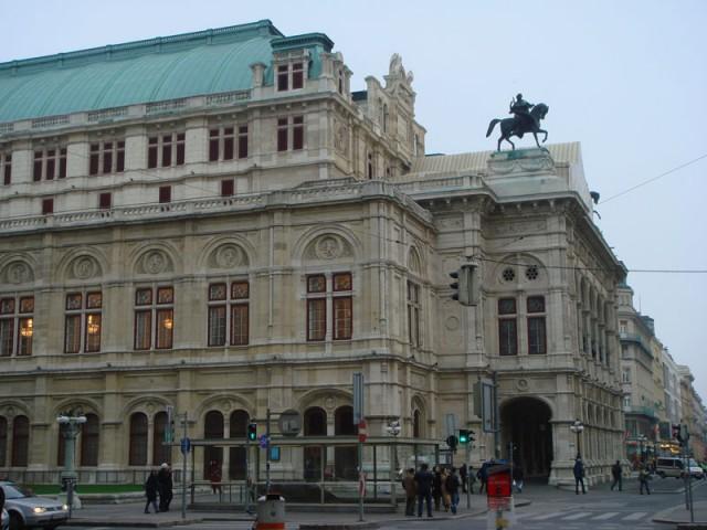 знаменитая венская опера