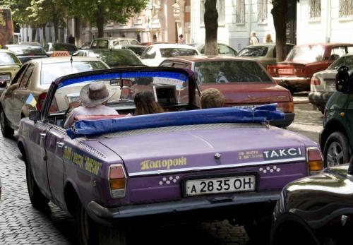 Фиолетовый кабриолет - это круто