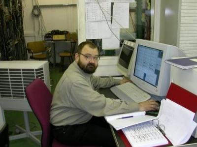 В лаборатории Церна
