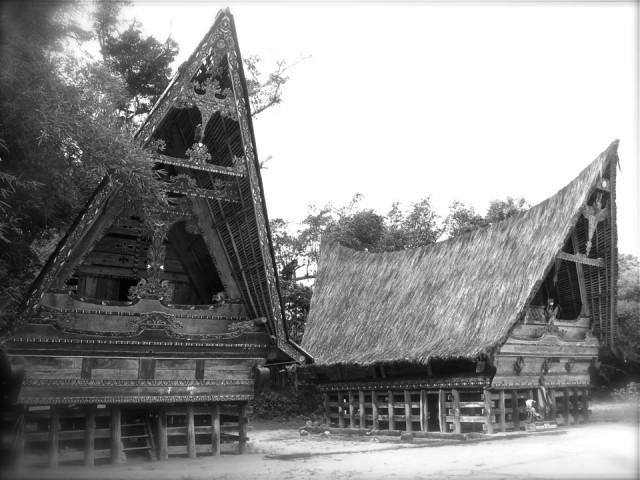 Бывшая резиденция Раджи Сималунгуна, озеро Тоба, Индонезия