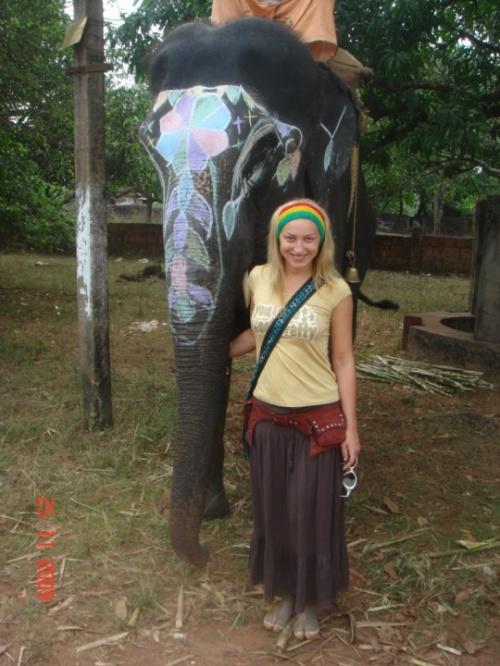 Слон и Женя)))