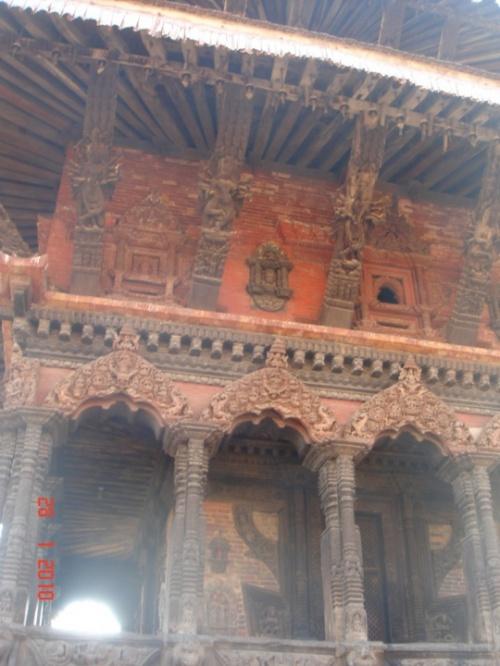 Древний город вблизи Катманду