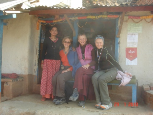 С подружками мы пили чай)))