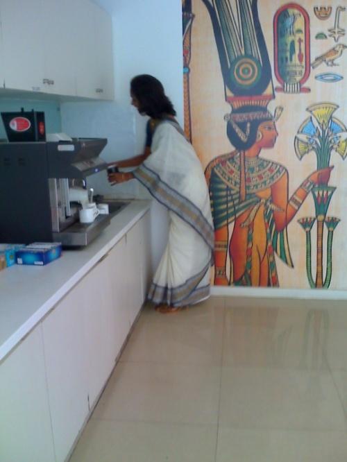 6 На работе, на нашей кухне