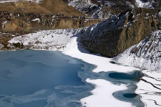 Озеро под Гангапурной