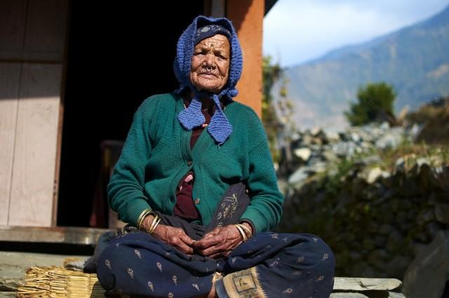 Бабушка гималайская
