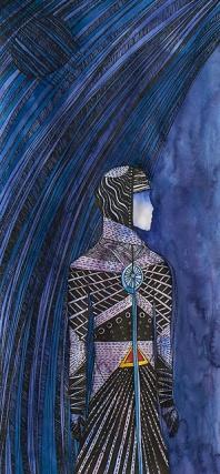"""""""Мы из разных древних племен"""", левая часть диптиха, 2009."""