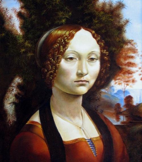 Copy Of Ginevra Benchi's Portrait