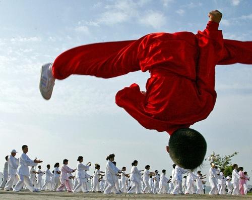 Национальный день фитнеса отметили в Китае