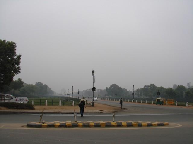 проспакт Раджпатх, до ворот Индии-3 км