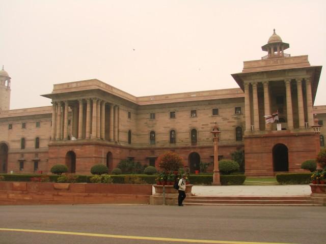 южное крыло Центрального Секретариата