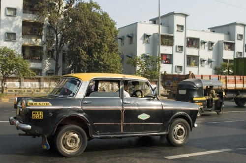 Мумбайские такси
