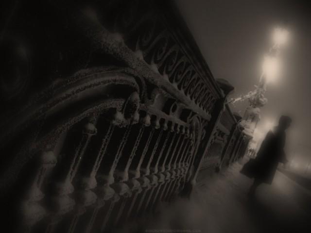 сумерки на троицком мосту