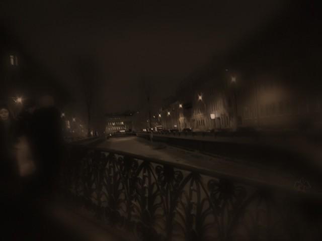 отблески демидова моста