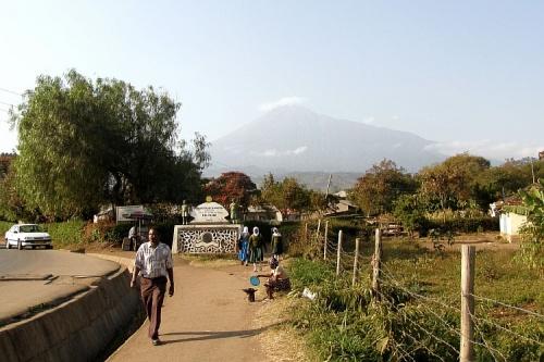 Вид на гору Меру