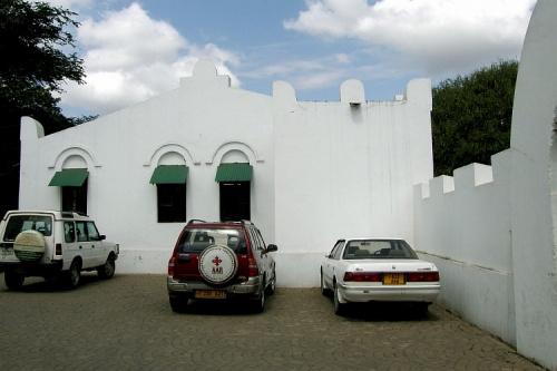 Одно из зданий музея (построено еще немцами)