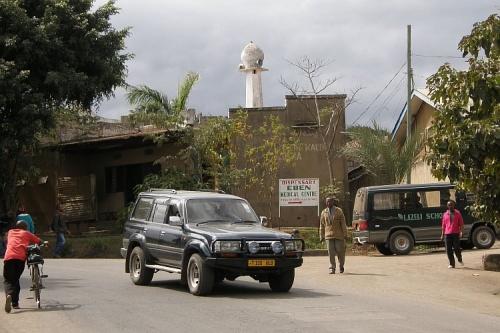 Мечеть в центре Африки