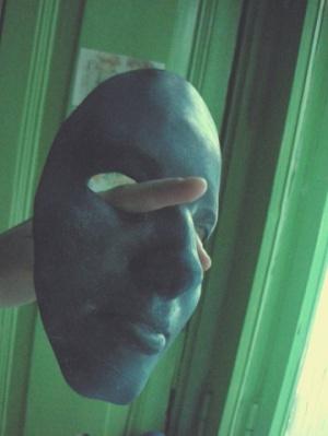работа дочки,маска с ее лица:)