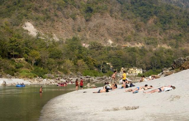 Пляж Гоа-бич в Ришикеше