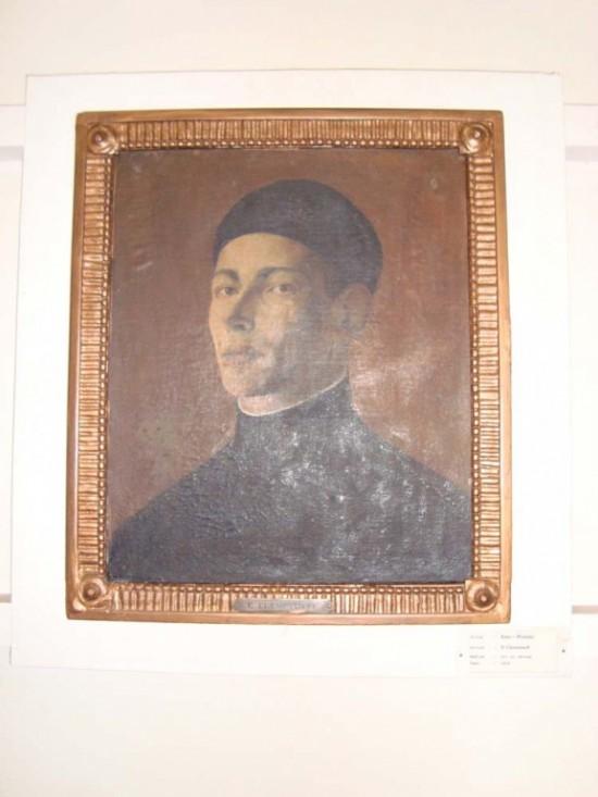художник-Клементьев Е. автопортрет 1926 год