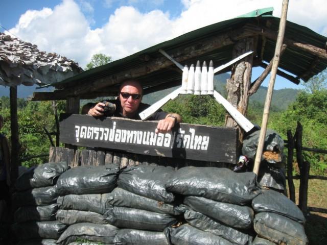 Тайско-бирманская граница. Шпиёны не пройдут!