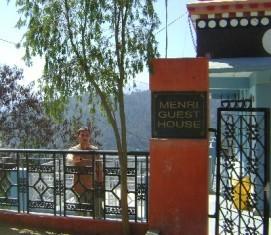 Около гостиницы монастыря