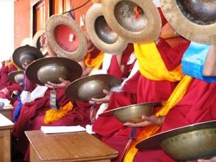 Праздник Лосар в монастыре