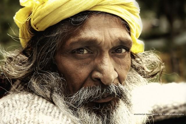 Дедушка в Наггаре 2010