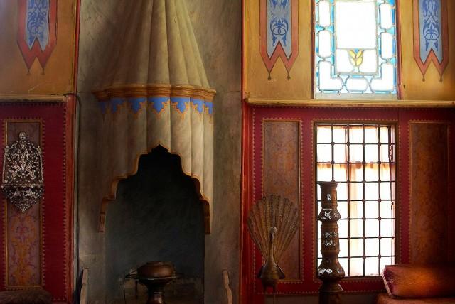 Обстановка гарема в Ханском дворце