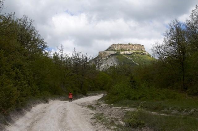Дорога к Тепе-Кермену