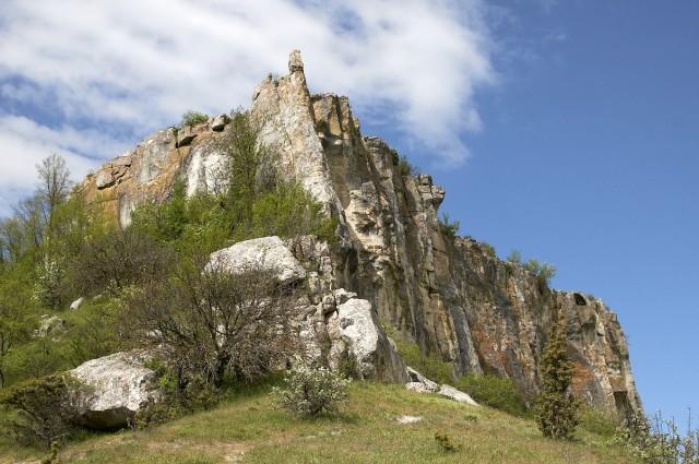 Вершина плато Тепе-кермен