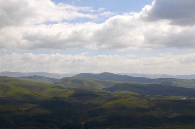 Вид с вершины Тепе-Кермена