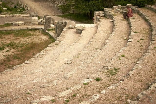 Римский амфитеатр в Херсонесе