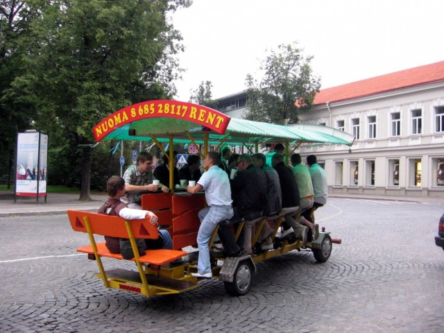 Вильнюс. Прокатное пиво )