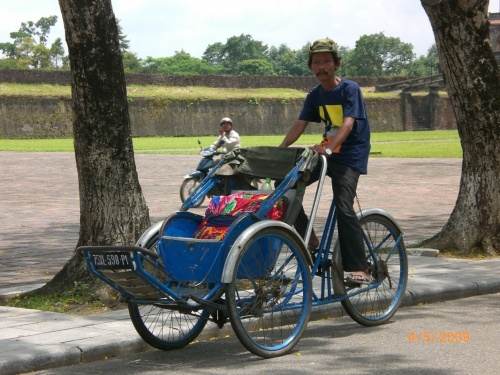 Вьетнамский рикша