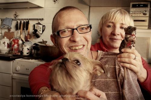 Красивое семейство Николаевых и Krыsko (Котя привет!)