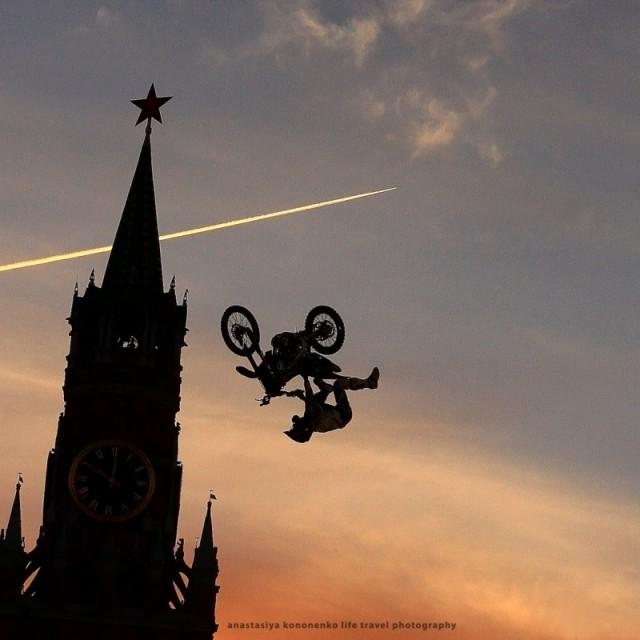 Red Biker's Flying. 2