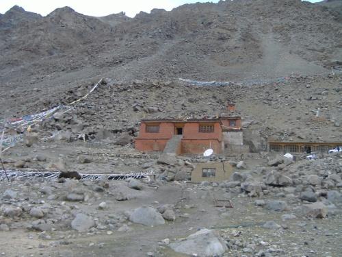 Монастырь у золотого лика Кайласа