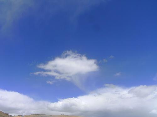 Такие облака китайцы рисуют, как транспортное средство святых
