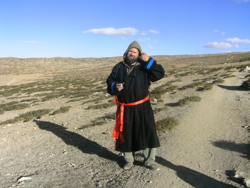 Пришлось утеплиться. Тибетская чуба.