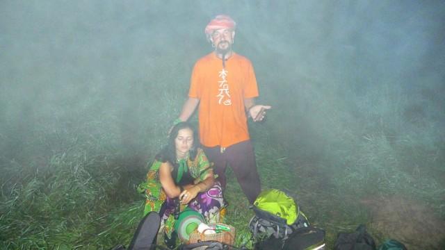 По ночам там был туман, из которого выходили всякие люди. Было немного страшновато.