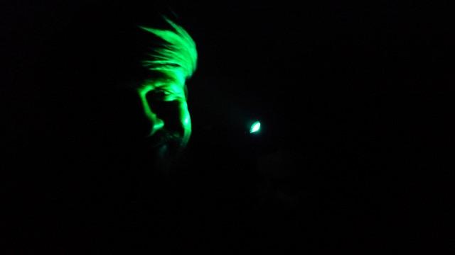 Дэва. Ночь. Страшновато.